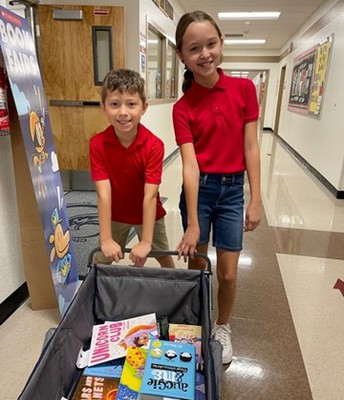 Thank you Mora Family for fulfilling the Teacher's Wishlist from the Book Fair!