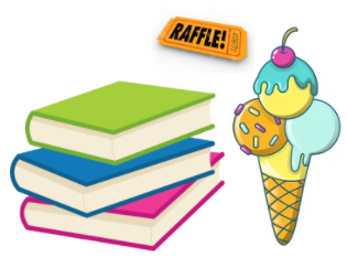 Return your library books and earn a raffle ticket!