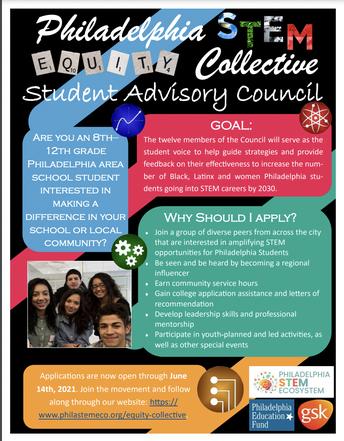 STEM Student Advisory Council