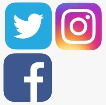 Find us and like us on social media