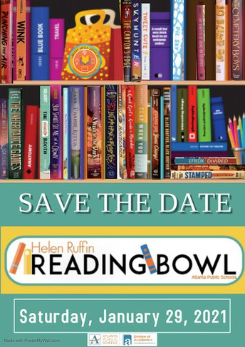 Helen Ruffin Reading Bowl