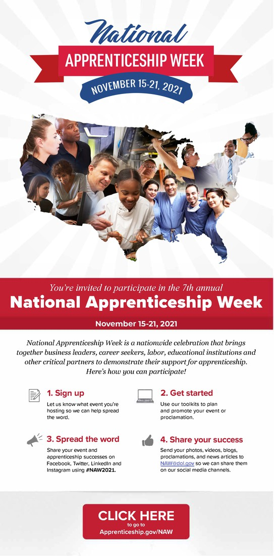National Apprenticeship Week Flyer