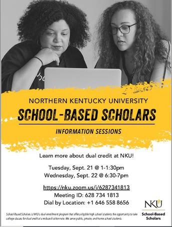 NKU School Based Scholars Information Session