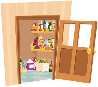 Parent Room/Emergency Food Pantry