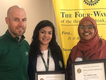 RISE coordinators receive rotary awards