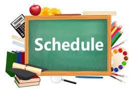 2021 - 2022 Middle School Schedule