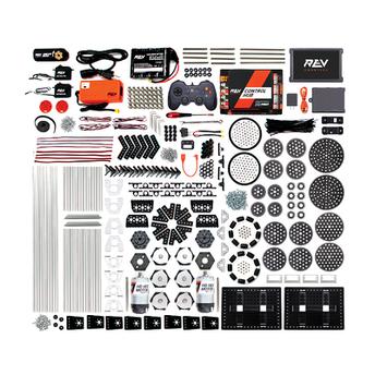 Robot parts and schematic