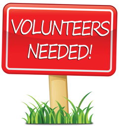 WE NEED VOLUNTEERS FOR ROUND UP