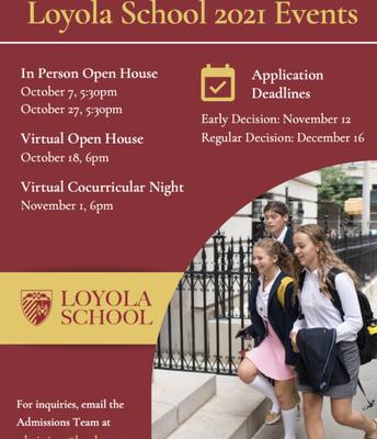 LOYOLA OPEN HOUSE