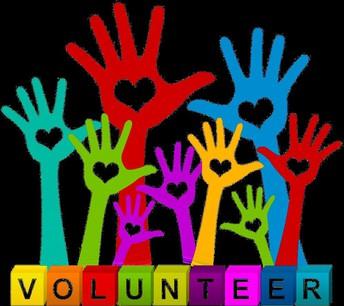 Volunteers in the Building