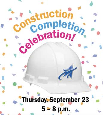 Construction completion celebration