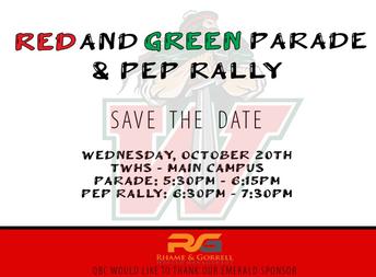 TWHS Parade and Pep Rally