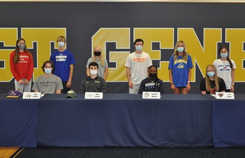 Congratulations to Athletes Signing Letters of Intent