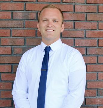 Garrett Benjamin, HS Athletic Director and Science Teacher