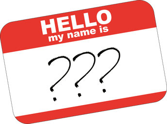 The Importance of a Name!