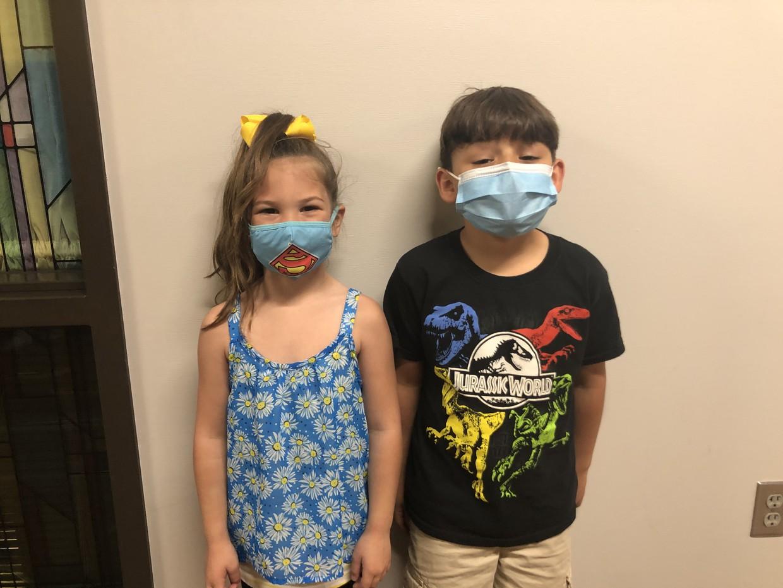 Kindergarten: Lexie and Callan