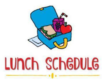 WMS 2021-2022 Lunch Schedule