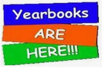 Yearbooks are almost sold out!