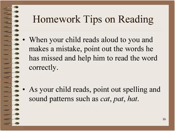 Reading Tip 1
