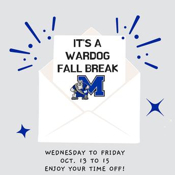 Wardog Fall Break