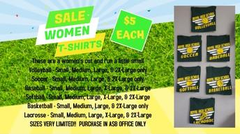 Women's T's Sale