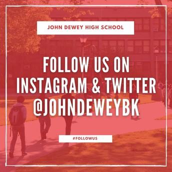 Follow Our Social Media Accounts!
