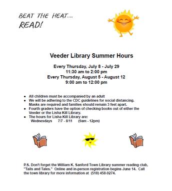 Beat the Heat... Read!