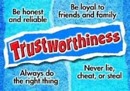 Character Counts Trait: Trustworthiness