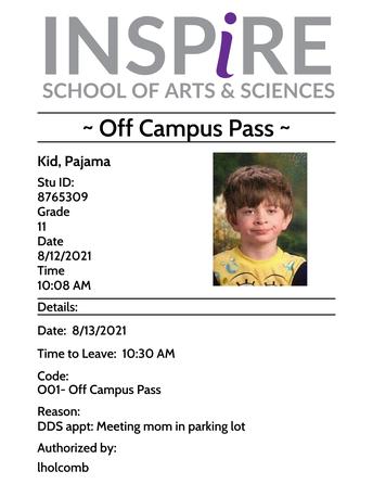 Leaving Campus