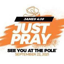 See You at the Pole-Annual Prayer at the Notre Dame Flag Pole