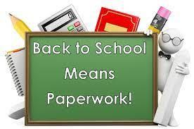 Paperwork is coming!!