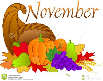LOOKING AHEAD TO NOVEMBER
