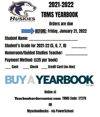 ORDER YOUR YEARBOOK!