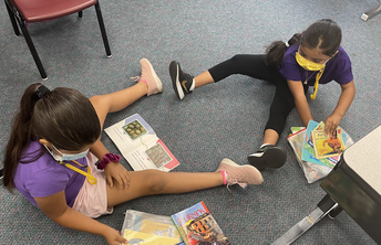 First Graders Reading