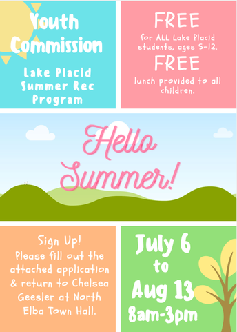 Summer Youth Commission Program