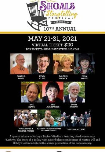 The 2021 Virtual Shoals Storytelling Festival