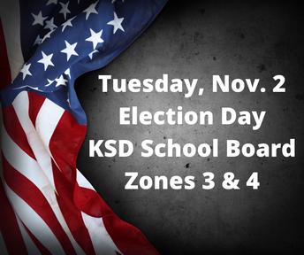 Registered voters in two school board zones will vote in November