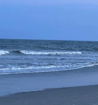 BRIGANTINE BEACH EVENING STROLL
