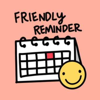 Reminder: Log in Every Day!