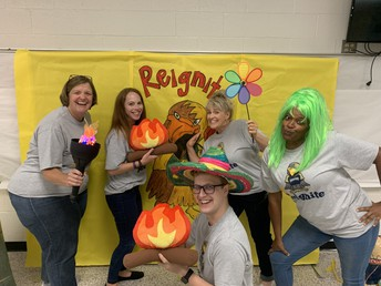 Our staff is reigniting their passion for teaching and ready to reignite our students' passion for learning.