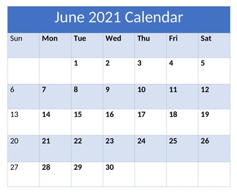 Upcoming Important Dates: