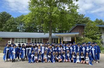 Grads Return to their Elementary Schools