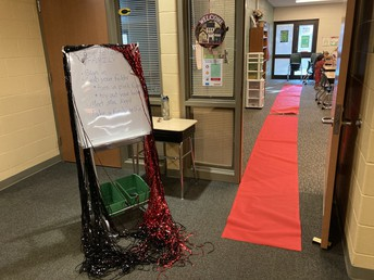 Mrs. Reed's Red Carpet