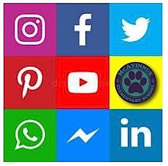 Follow McAvinnue On Social Media