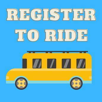Students must register to ride the bus