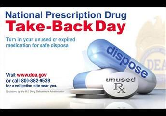 Seagoville Police Department Drug Take Back October 23, 2021