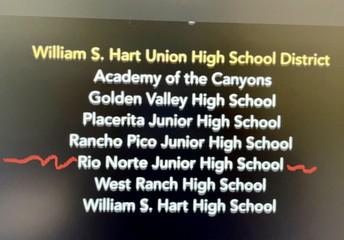 Virtual Distinguished School celebration!