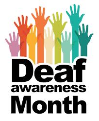 September is Deaf Awareness Month