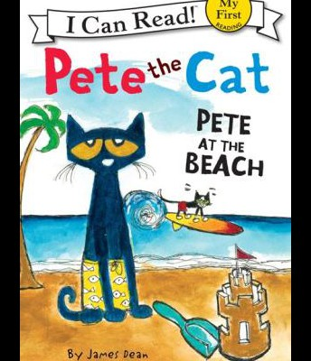 Pete at the Beach (Pete the Cat Series)