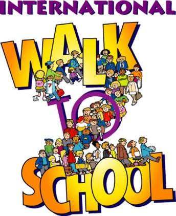 Walk to School Day: October 5